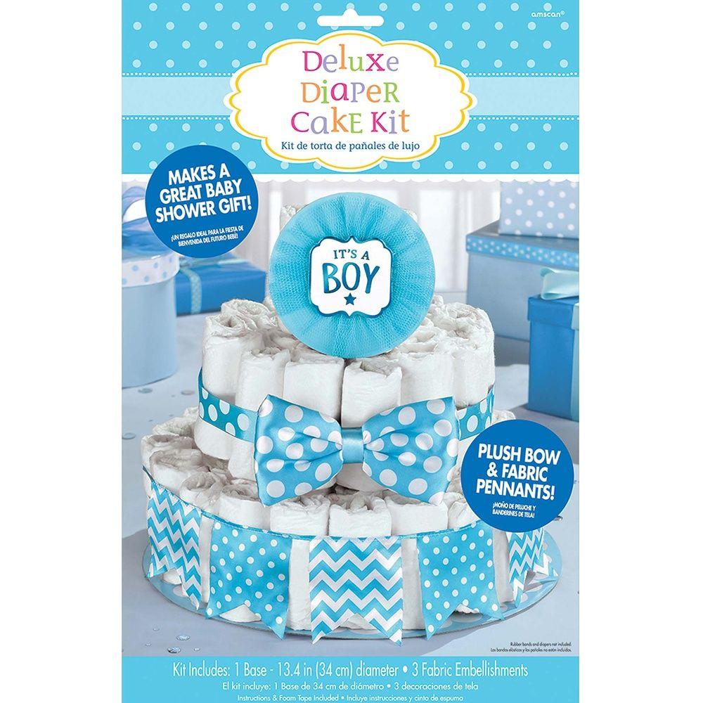 Baby diaper cake Girl diaper cake Baby shower gift New mom gift Washcloth rose Baby shower decoration Bunny diaper cake