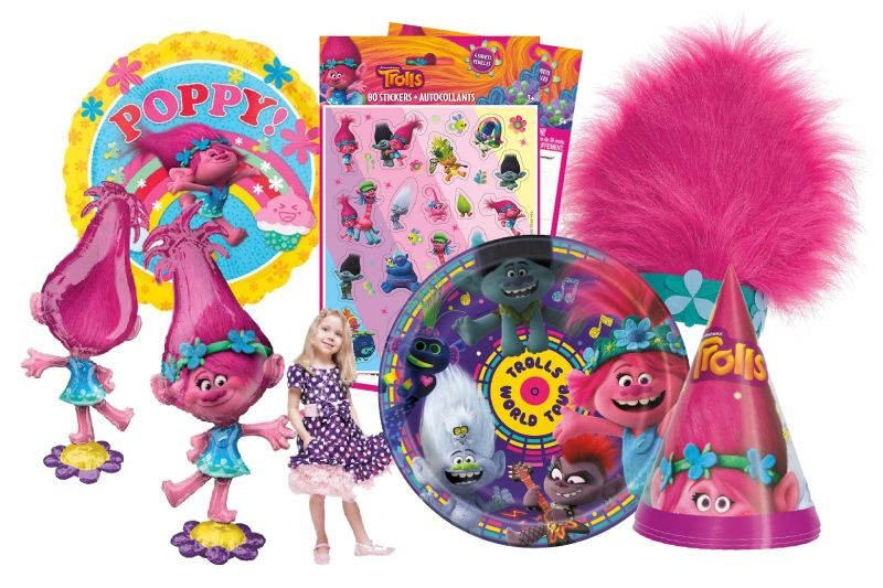 Girl's Birthday Party Supplies